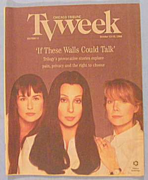 TV Week-October 13-19, 1996 Cher, Demi Moore & Spacek (Image1)