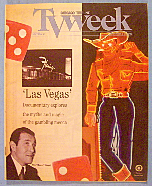 TV Week-December 1-7, 1996 Las Vegas (Ben Bugsy Siegel) (Image1)