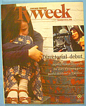 TV Week-December 15-21, 1996 Anjelica Huston (Image1)