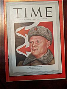 Time Magazine - February 22, 1943 - Golikov Cover (Image1)
