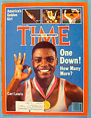 Time Magazine August 13, 1984 Carl Lewis
