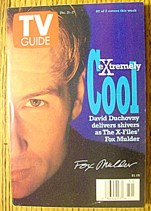 Tv Guide December 21-27, 1996 David Duchovny