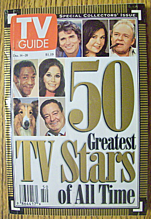 TV Guide December 14-20, 1996 50 Greatest TV Stars (Image1)