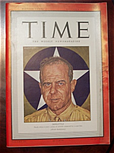 Time Magazine - November 23, 1942 - Doolittle Cover