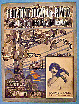 Floating Down The River 1913 Lightner & Jordan