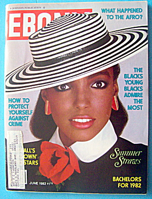 Ebony Magazine-june 1982-summer Straws