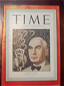 Time Magazine - March 15, 1943 - Elmer Davis Cover