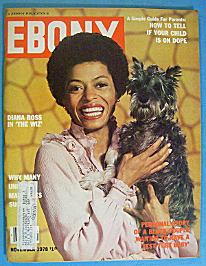Ebony Magazine-November 1978-Diana Ross In The Wiz (Image1)