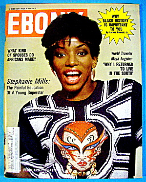 Ebony Magazine-February 1982-Stephanie Mills (Image1)