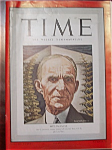Time Magazine - March 23, 1942 - Henry Ford Cover