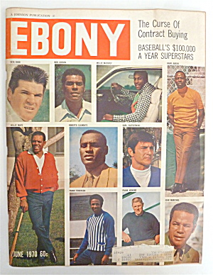Ebony Magazine-june 1970-baseball Superstars