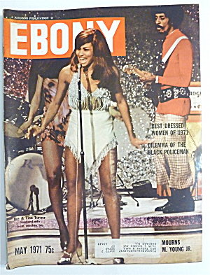 Ebony Magazine-may 1971-ike & Tina Turner