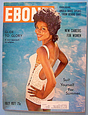Ebony Magazine-july 1971-angela Davis