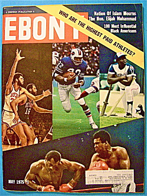 Ebony Magazine-may 1975-highest Paid Athletes