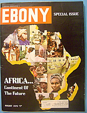 Ebony Magazine-august 1976-africa
