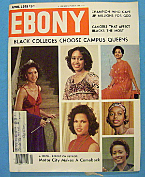 Ebony Magazine-april 1978-campus Queens