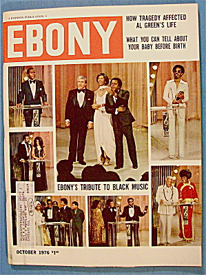 Ebony Magazine-october 1976-ebony's Tribute Black Music