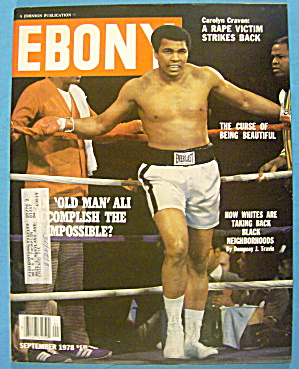 Ebony Magazine-september 1978-muhammad Ali