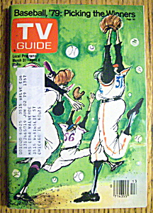 Tv Guide-march 31-april 6, 1979-baseball '79