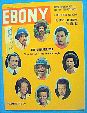 Ebony Magazine-december 1976-the Unmarrieds