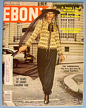 Ebony Magazine-december 1977-fashion Fair