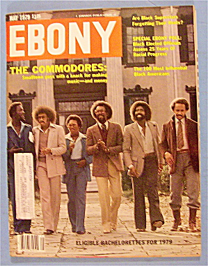 Ebony Magazine-may 1979-the Commodores