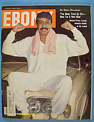 Ebony Magazine-october 1980-richard Pryor
