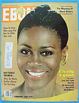 Ebony Magazine-february 1981-cicely Tyson