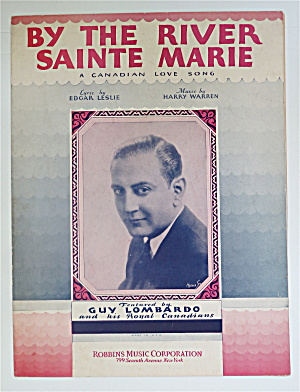 1931 By The River Sainte Marie By Leslie & Warren