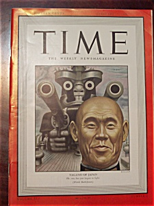 Time Magazine - February 15, 1943 - Nagano Cover