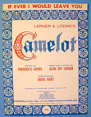 If Ever I Would Leave You 1960 Camelot