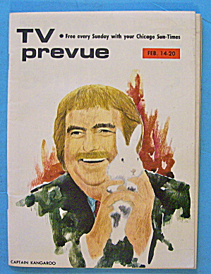 Tv Prevue February 14-20, 1971 Captain Kangaroo