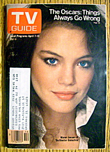 Tv Guide-april 7-13, 1979-maren Jensen