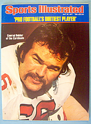 Sports Illustrated Magazine July 25, 1977 Conrad Dobler