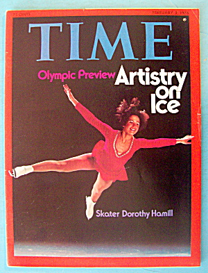 Time Magazine February 2, 1976 Skater Dorothy Hamill