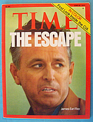 Time Magazine June 20, 1977 The Escape: James Earl Ray