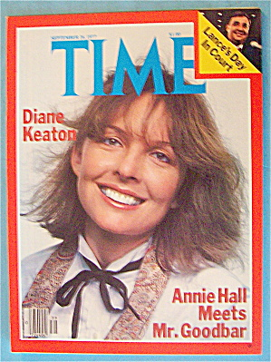 Time Magazine September 26, 1977 Diane Keaton