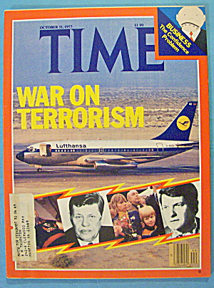 Time Magazine October 31, 1977 War On Terrorism