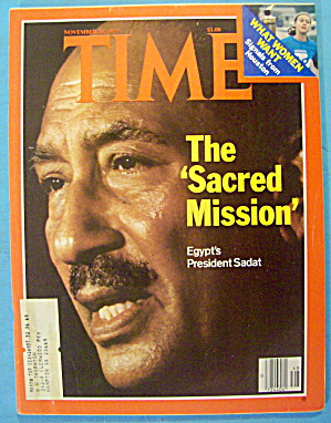Time Magazine November 28, 1977 The Sacred Mission