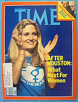 Time Magazine December 5, 1977 What Next For Women