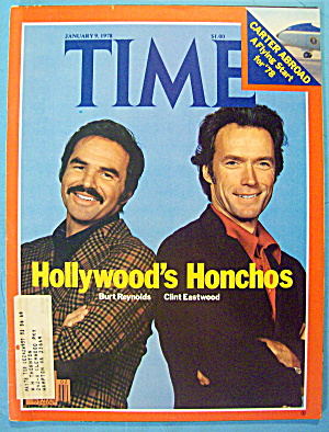 Time Magazine January 9, 1978 B. Reynolds & C. Eastwood (Image1)