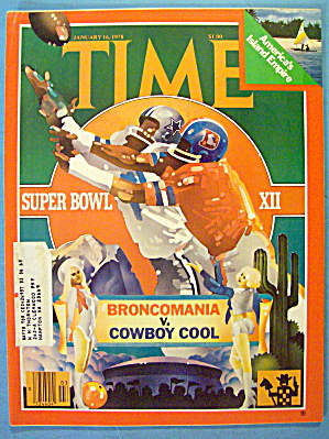 Time Magazine January 16, 1978 Super Bowl XII (Image1)