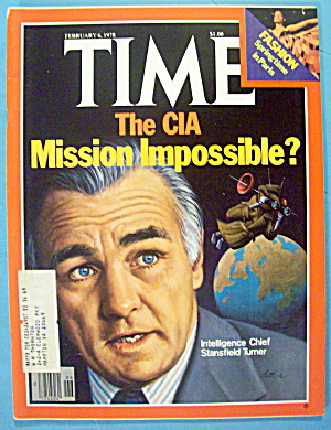 Time Magazine February 6, 1978 The Cia