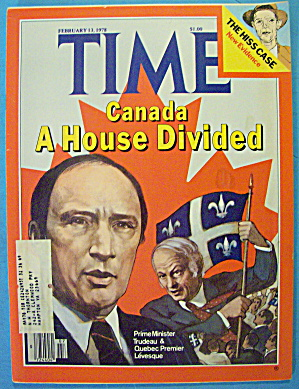 Time Magazine February 13, 1978 A House Divided