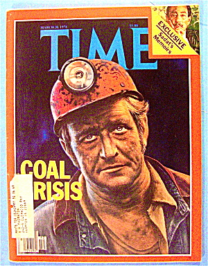 Time Magazine March 20, 1978 Coal Crisis