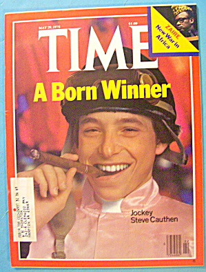 Time Magazine May 29, 1978 Steve Cauthen: A Born Winner