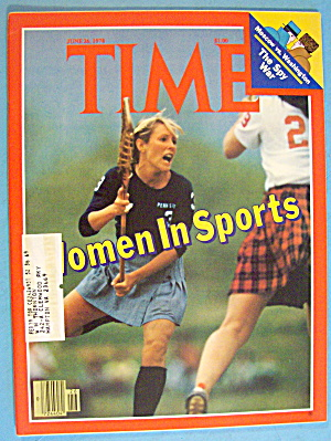 Time Magazine June 26, 1978 Women In Sports
