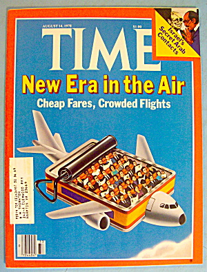 Time Magazine August 14, 1978 New Era In The Air