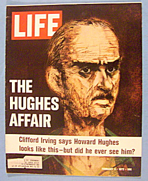 Life Magazine February 4, 1972 Hughes Affair