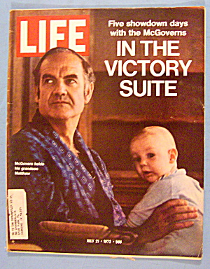 Life Magazine July 21, 1972 The McGoverns (Image1)